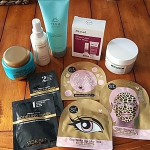 TULA, OUAI, KLORANE , FACE MASK bundle